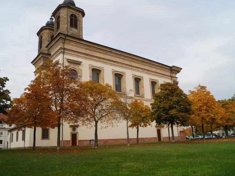 Oggersheim Wallfahrtskirche Mariä Himmelfahrt
