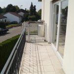 Balkon mit Lift
